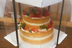 草莓小姐裸蛋糕