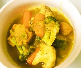 南瓜蔬菜羹