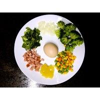 低热量缤纷蛋炒饭