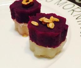 紫薯红苕泥