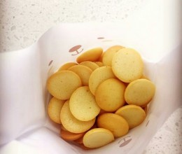 家庭蛋黄饼干