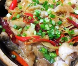 砂锅焖鱼煲