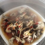 剁椒豆豉蒸牛蛙