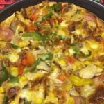 八寸黑椒牛柳披萨