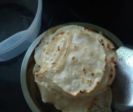 饺子皮烙饼