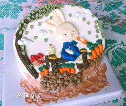 3D彩绘蛋糕
