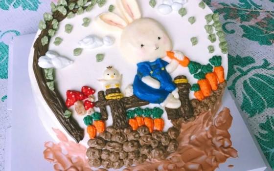 3D彩绘蛋糕的做法 3D彩绘蛋糕的家常做法 3D彩绘蛋糕怎么做