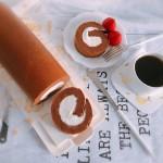 超浓郁卷不裂的巧克力蛋糕卷