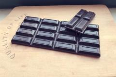 自制74%素食黑巧克力(可可粉版)