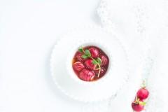 有颜有内涵的樱桃萝卜