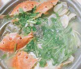 鲜美无比的蚬煮鱼
