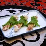紫苏梅烤鸡串