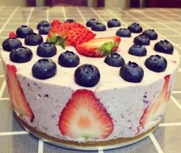 草莓➕蓝莓慕斯