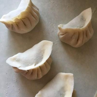 香菜牛肉饺子