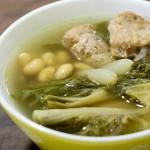 滋阴润肺的菜干排骨黄豆汤