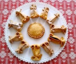 金鱼夹心饼干