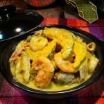 咖喱煮海鲜栗瓜