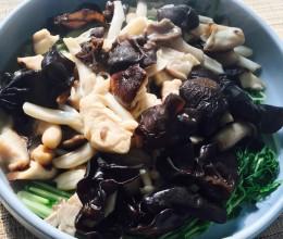 杂菇豌豆苗