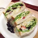 牛油果酸奶三明治