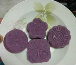 紫玉淮山药糕