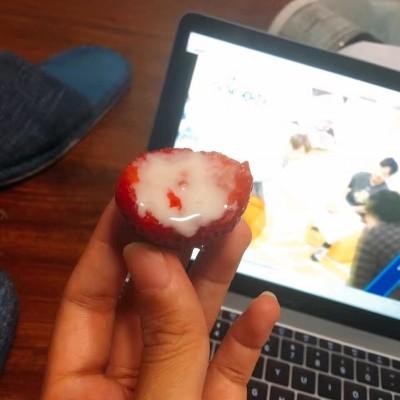 草莓的日式吃法