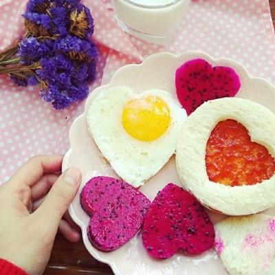 情人节的爱心餐