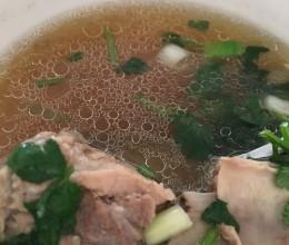 高压锅排骨汤