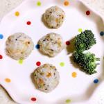 鳕鱼彩色饭团