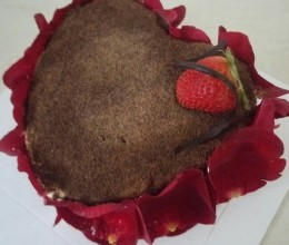 六寸水果戚风蛋糕