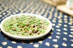肉焖鲜豌豆