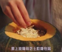 奶油培根芝士南瓜焗饭【只要有北斋和饭.】