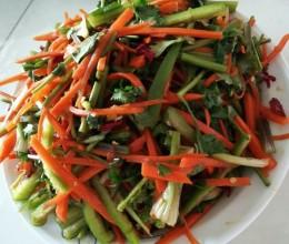 三丝小咸菜
