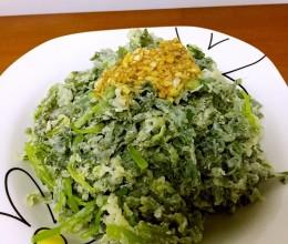 蒸茼蒿(蒸菜)