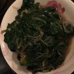 凉拌菠菜粉条
