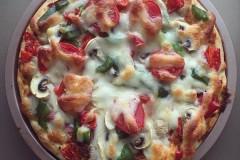 8寸圆模披萨