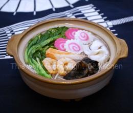 砂锅海鲜荞麦面