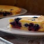 法式乳酪蓝莓派