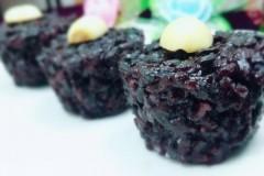 黑米盏 黑米糕