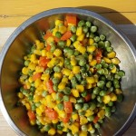 省事系列之豌豆玉米粒