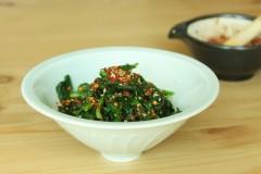 辣味芝麻菠菜