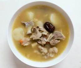 猪骨红枣淮山汤