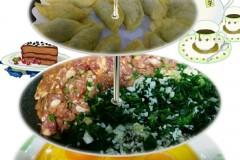 荠菜冬笋猪肉蛋饺