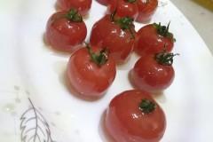 杏鲍菇柿子沙拉