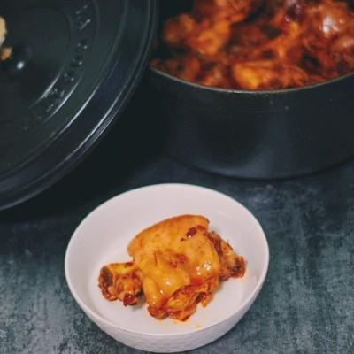 香辣猪蹄—Staub铸铁锅