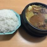 韩式排骨大酱汤