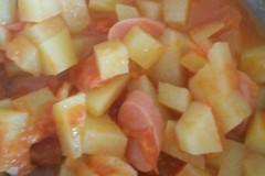 西红柿土豆