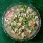 豌豆面疙瘩汤