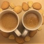 椰蓉淡奶咖啡(咖啡機)