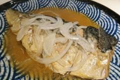 鯖魚味增煮