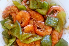 尖椒炒海虾